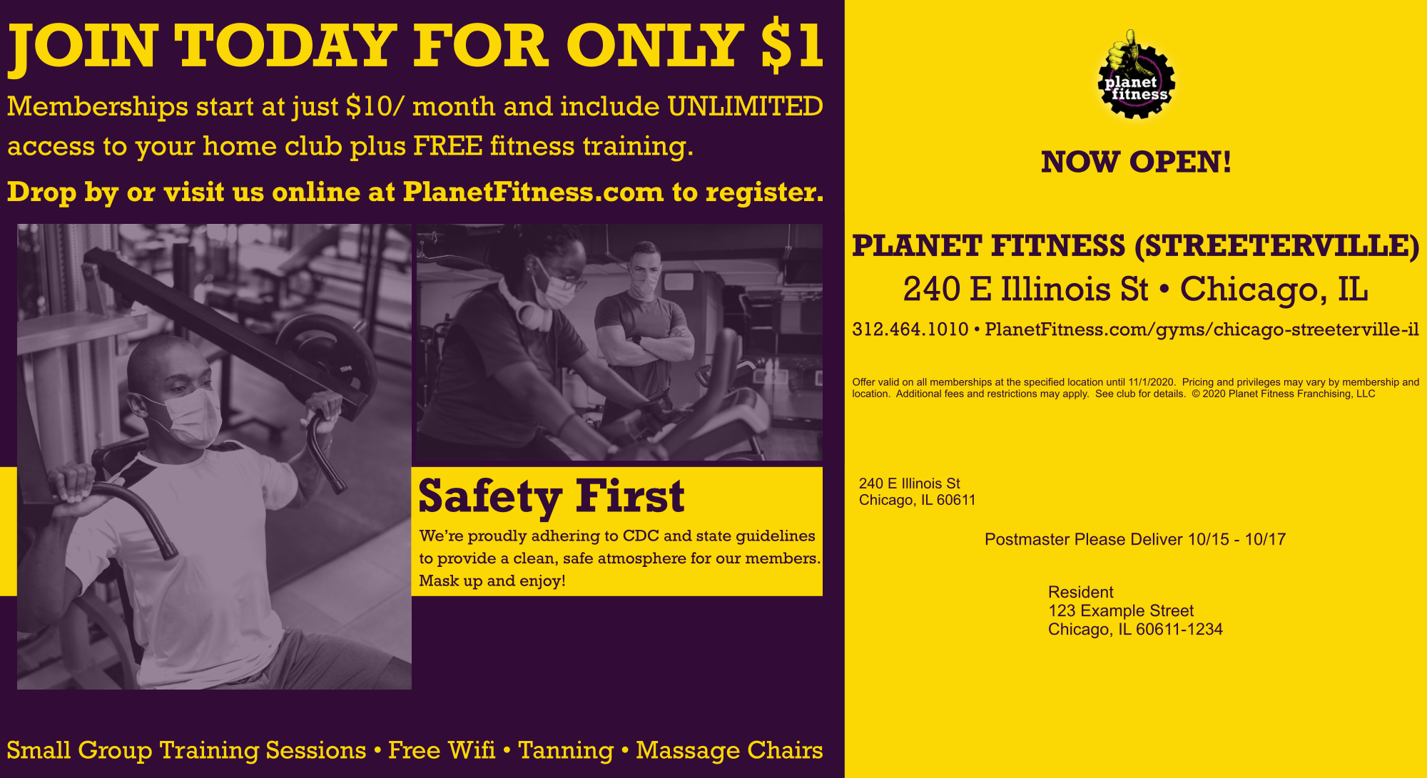 Planet Fitness - Direct Response - Mailer