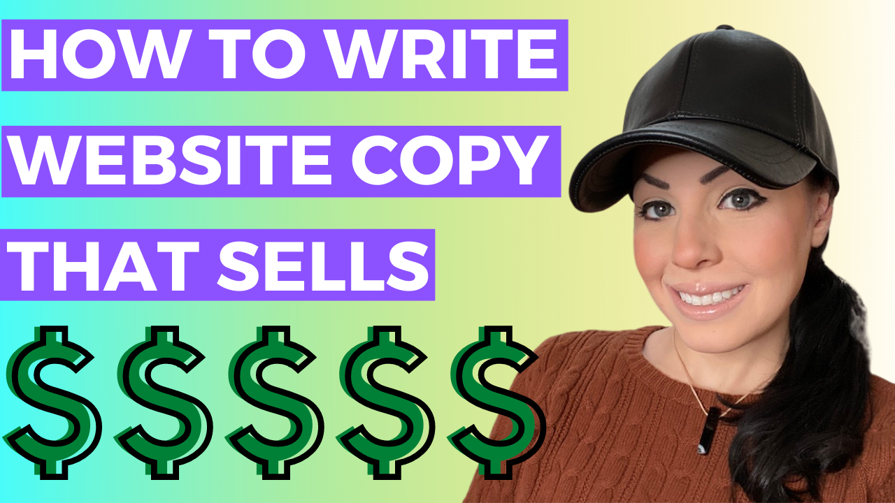 how to write stronger website copy